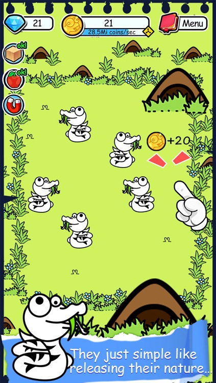 Snake Evolution - Tap Coins of the Mutant Tapper Clicker Game by Mr. sLItHeR