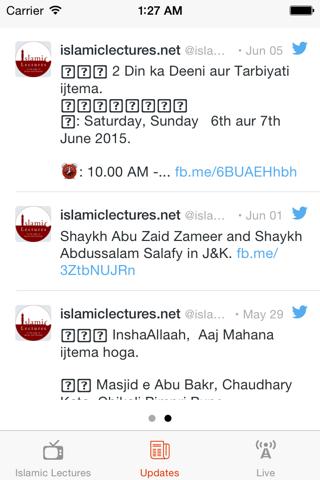 Islamic Lectures - Abu Zaid Zameer - náhled