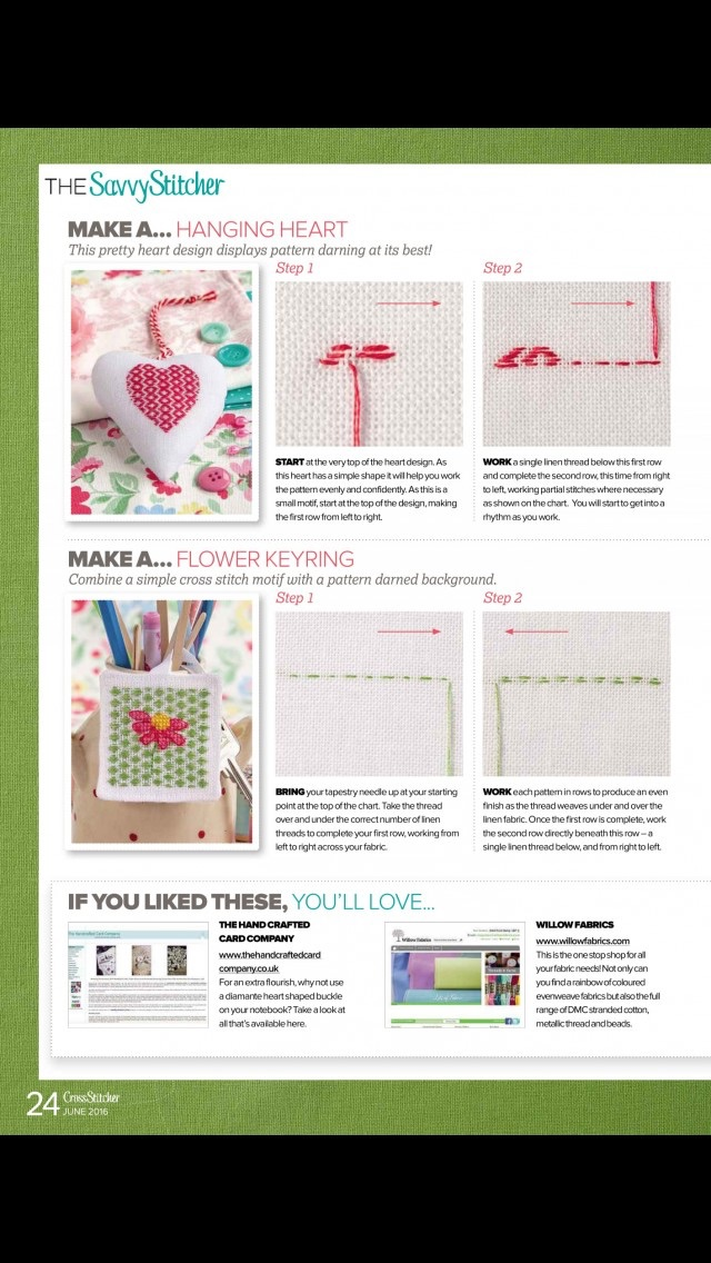 download CrossStitcher Magazine | stitching and colourful designs in home furnishings apps 4