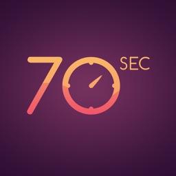 70 seconds Apple Watch App
