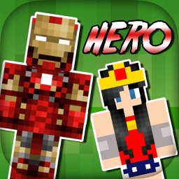 SuperHero Skins Pro - Export Skin for MineCraft Pocket Edition