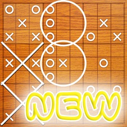 The Super Tic Tac Toe for iPhone and iPad Pro HD
