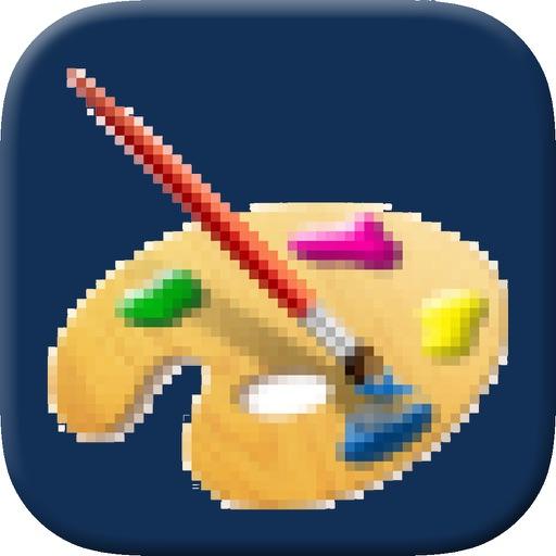 PixelPad - Draw in Grids to Make Pixel Art