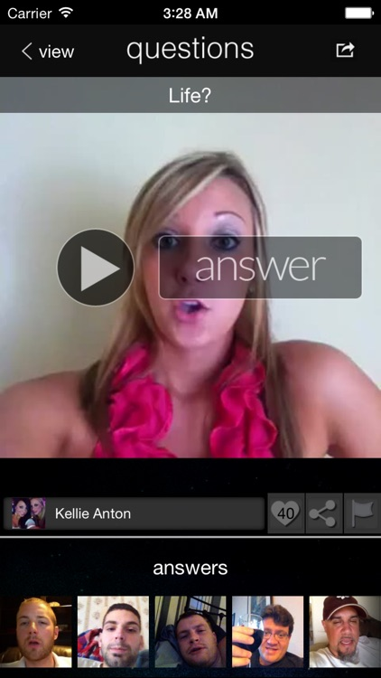 Questions Video Messenger - Ask, Show, & Tell