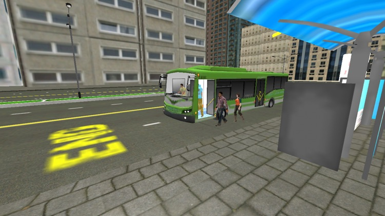 Extreme Bus Drive Simulator 3D -  City Tourist Bus Driving Simulation Game For FREE screenshot-4