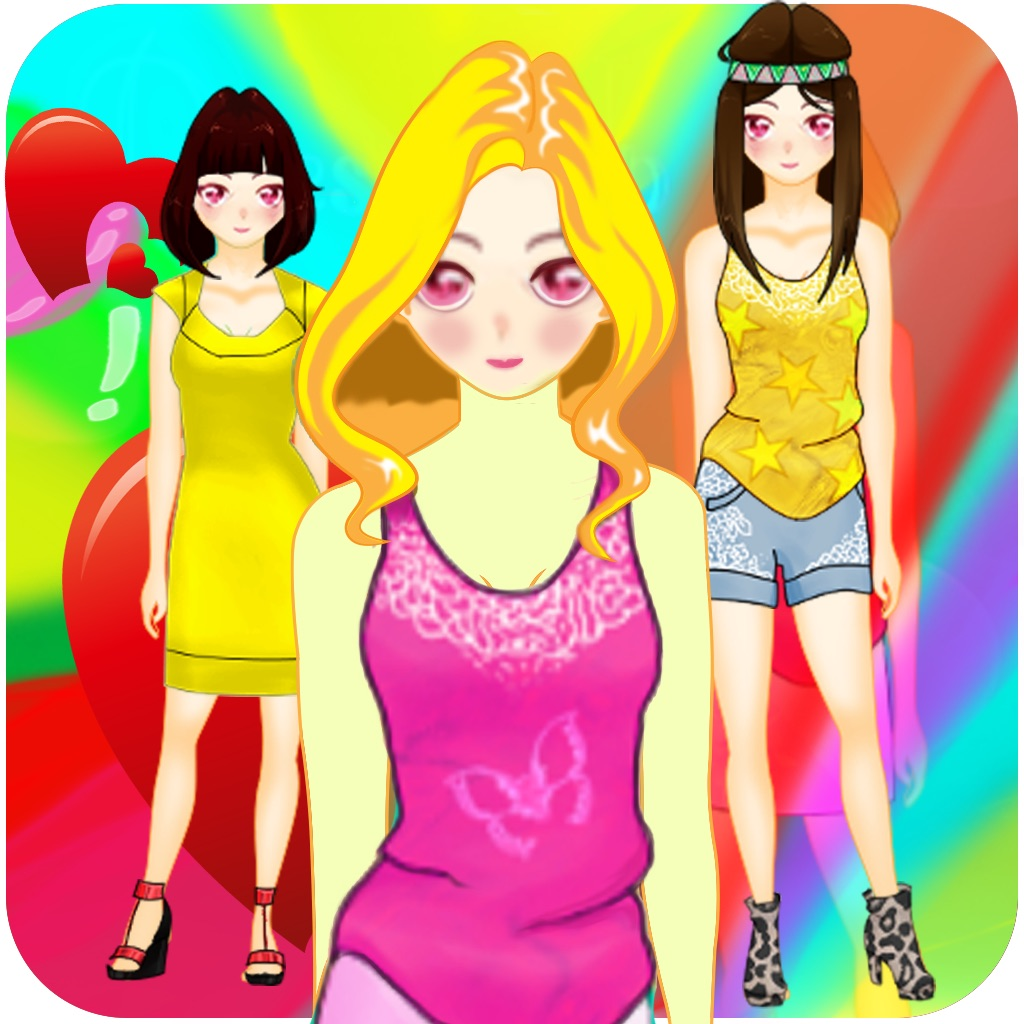 Anime Princess Dress Up - Cute Chibi Dresses Character Games For Girls hack