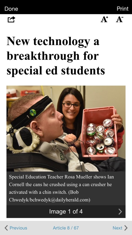 Daily Herald E-edition
