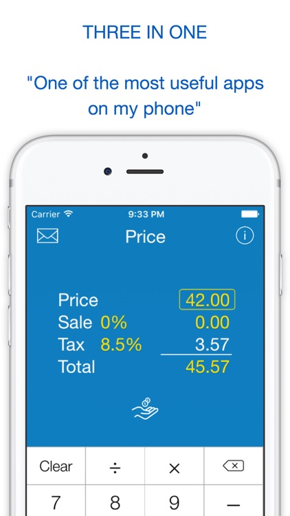 Sales Tax, Discount Calculator, Tip and Price Shopping Calculator screenshot-3