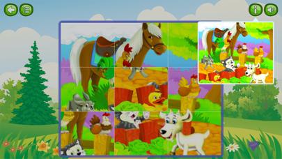 Animal & Zoo Jigsaw Cartoon Puzzle For Kids screenshot four