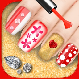 Nail Salon Makeover Game - Beauty Fashion Spa With Fancy Manicure Designs For Girls