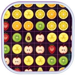 Fruit Match Additive Free Fun Game - Match 3 Puzzle