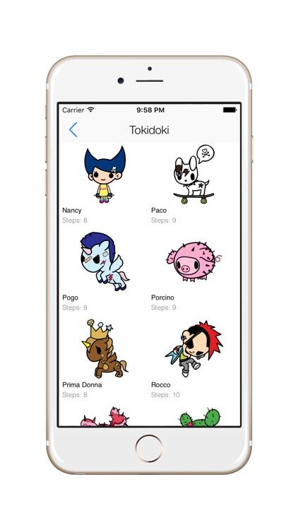 How To Draw Tokidoki - Free All