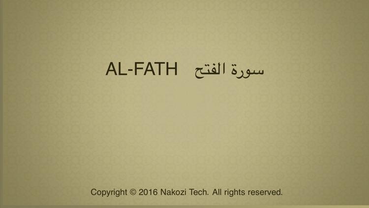 Surah No. 48 Al-Fath screenshot-3