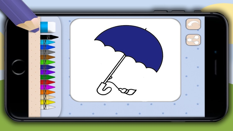 Coloring book for kids - pictures and drawings to paint with girls & boys color games screenshot-3