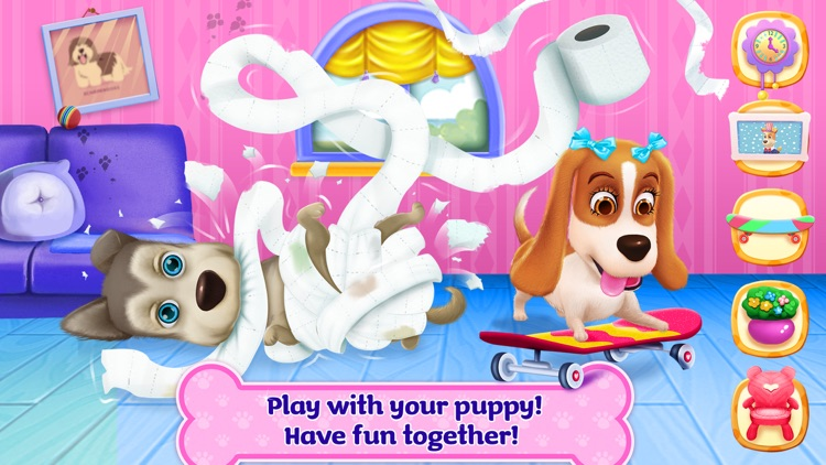 Puppy Life Secret Party screenshot-3