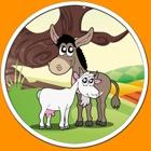 animales de granja excepcionales para los niños - sin publicidad icon