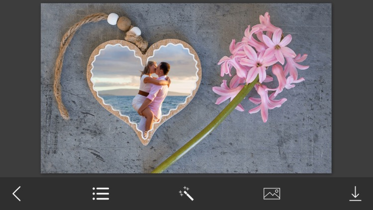 HoneyMoon Photo Frames - Instant Frame Maker & Photo Editor screenshot-3