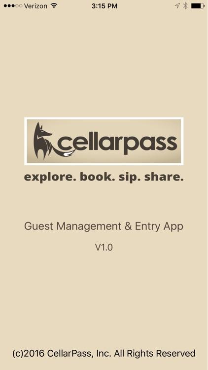 CellarPass Guest Link
