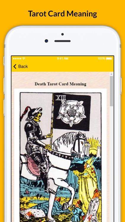 Tarot Card Meaning - Full Version