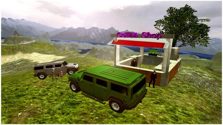 Monster Jeep Mountain Drive screenshot-4