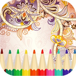Colour Break -Adult coloring book for creative minds