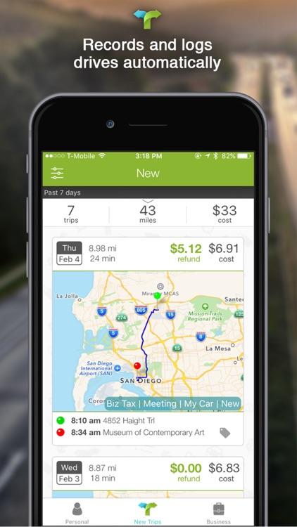 TripTagger - Mileage Tracker & Tax Refund App