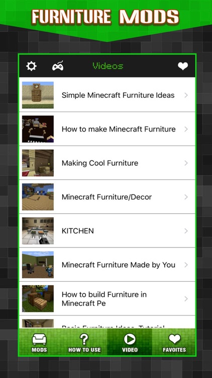 New Furniture Mods Pro - Pocket Wiki & Game Tools for Minecraft PC Edition