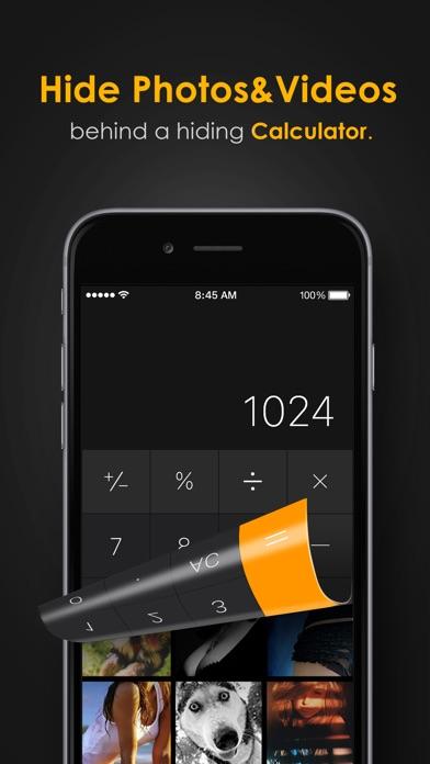 Secret Calculator Photo Album app image
