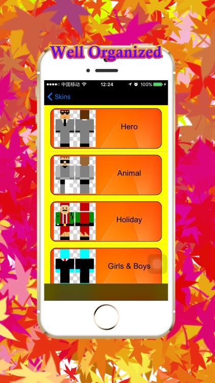 100000+ Skins Hero Creator for Minecraft Edition screenshot-3