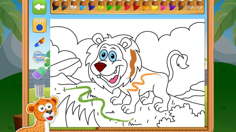 Zoo Animals Activity Set - Paint & Play All In One Educational Learning Games for Kids