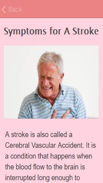 Symptoms Of A Stroke