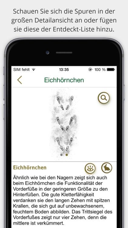 Tierspuren bestimmen –  entdecken Sie die 100 wichtigsten heimischen Tierarten an ihren Spuren screenshot-3