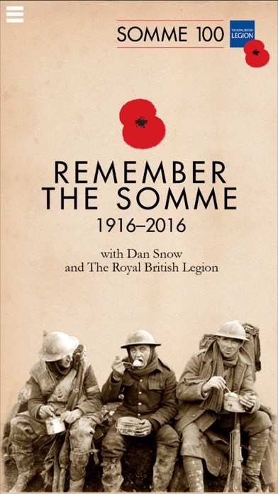 Somme 100 – Remember the Battle of the Somme with Dan Snow & The Royal British Legion screenshot two