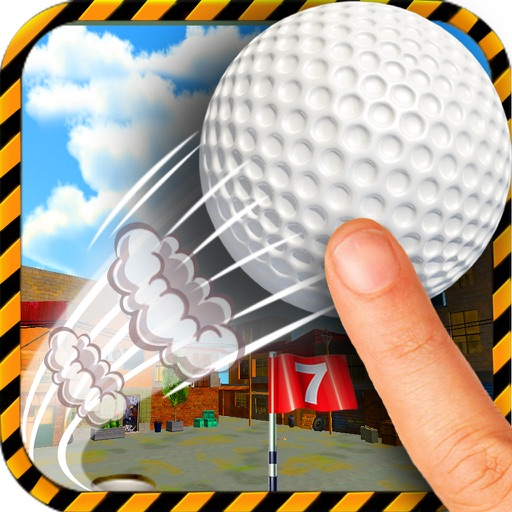 Mini Golf Masters 36+ holes turbo Edition: Feel of real golf game with flick and putt for ace players by BULKY SPORTS