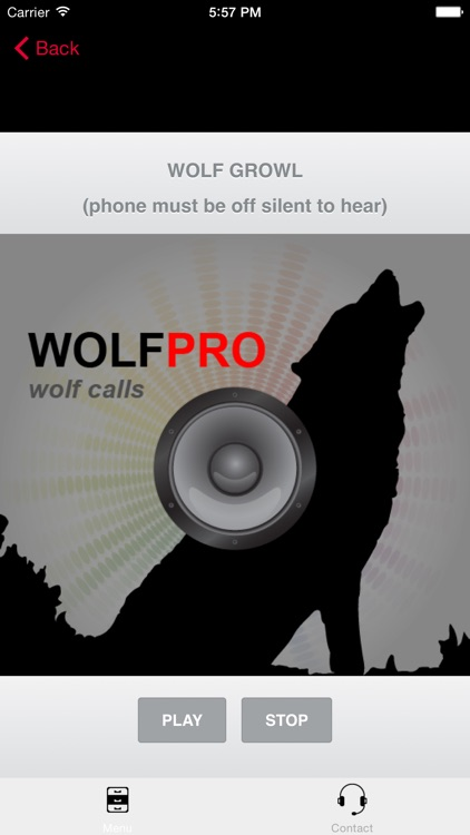 REAL Wolf Calls and Wolf Sounds for Wolf Hunting - BLUETOOTH COMPATIBLEi screenshot-3
