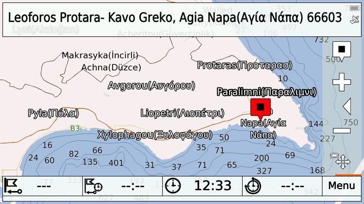 Cyprus on Road GPS Navigation