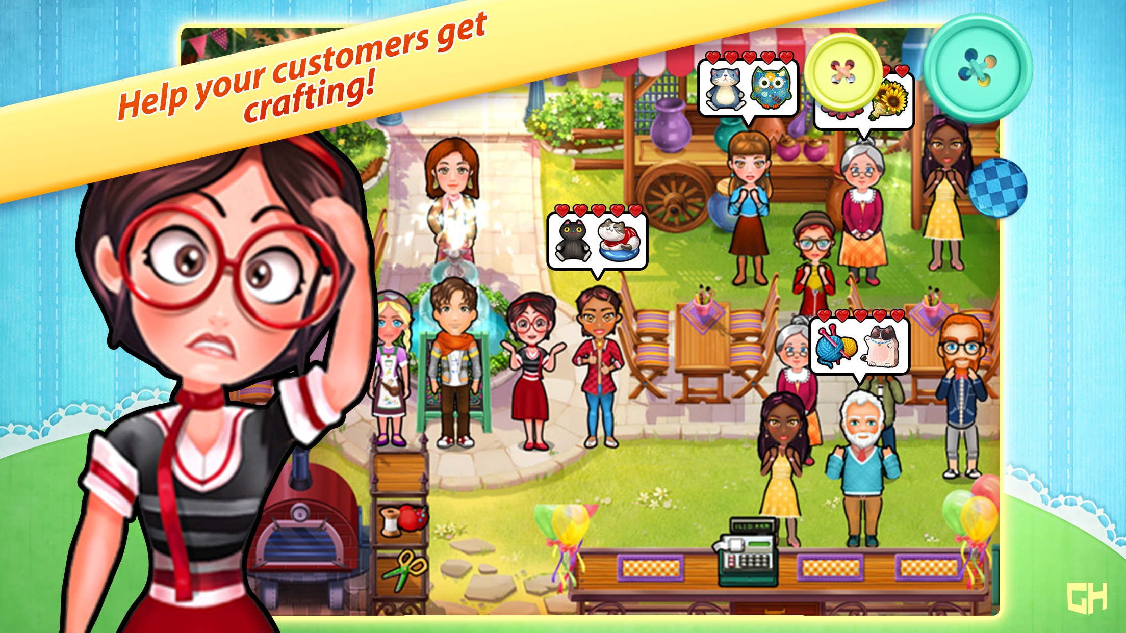 Cathy's Crafts - A Time Management Game Screenshot