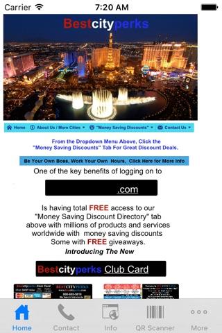 Screenshot of BestCityPerks