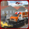 911 Emergency Ambulance Driver Duty: Fire-Fighter Truck Rescue