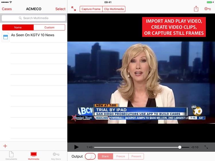 TrialPad - Organize and Present Evidence screenshot-3