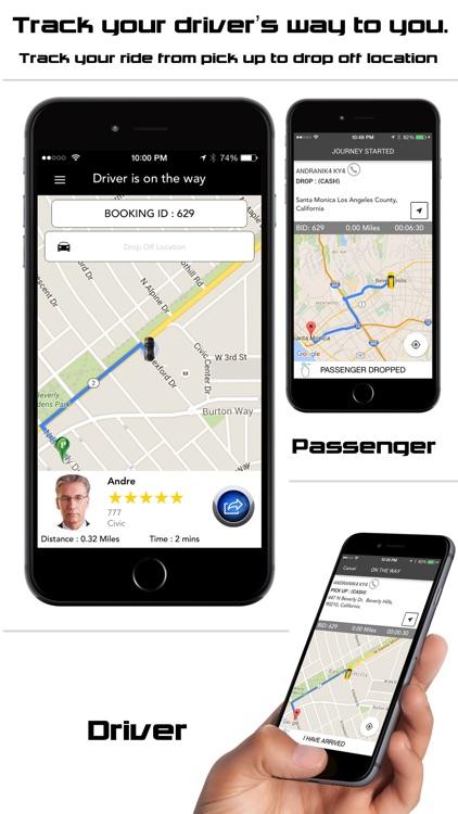 MobRide - Cars booking system