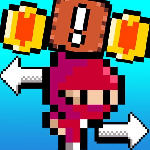 Super 8bit Man Ninja bros for free simulator games iOS App