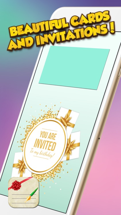 Creative Greeting Card Maker – Beautiful e-Cards and Party Invitations for Special Event.s