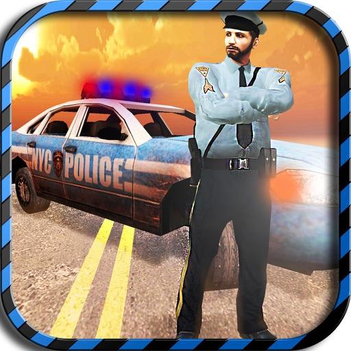 Пьяный водитель полиции Chase Simulator - Поймайте опасным гонщиком и разбойники в сумасшедшем порыве дорожного движения