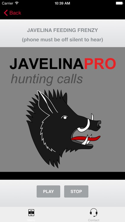 REAL Javelina Calls & Javelina Sounds to use as Hunting Calls (ad free) - BLUETOOTH COMPATIBLE screenshot-3
