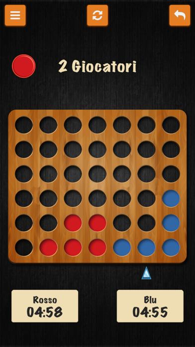 Forza Quattro • I Classici giochi italiani screenshot two