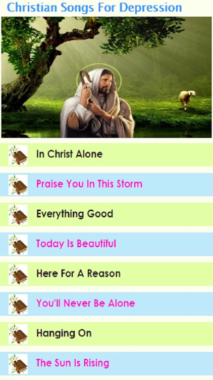 Christian Songs for Depression