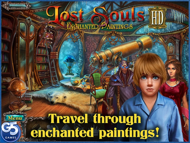 Lost Souls: Enchanted Paintings HD screenshot-0