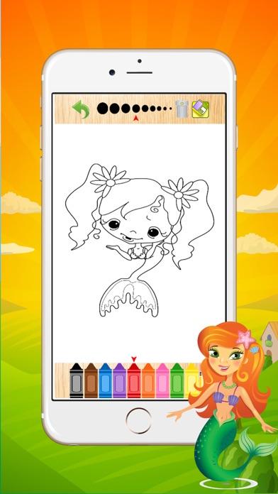 点击获取Mermaid Coloring Book For Girls - Coloring Book for Little Boys, Little Girls and Kids