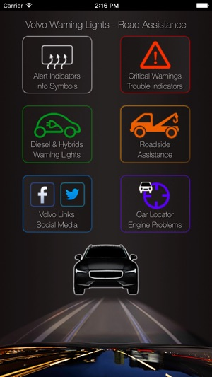 App For Volvo Warning Symbols Volvo Cars Problems On The App Store